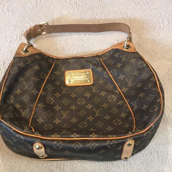 2ba7d927d Louis Vuitton Bags | Monogram Galliera Inventeur Hobo Bag | Poshmark